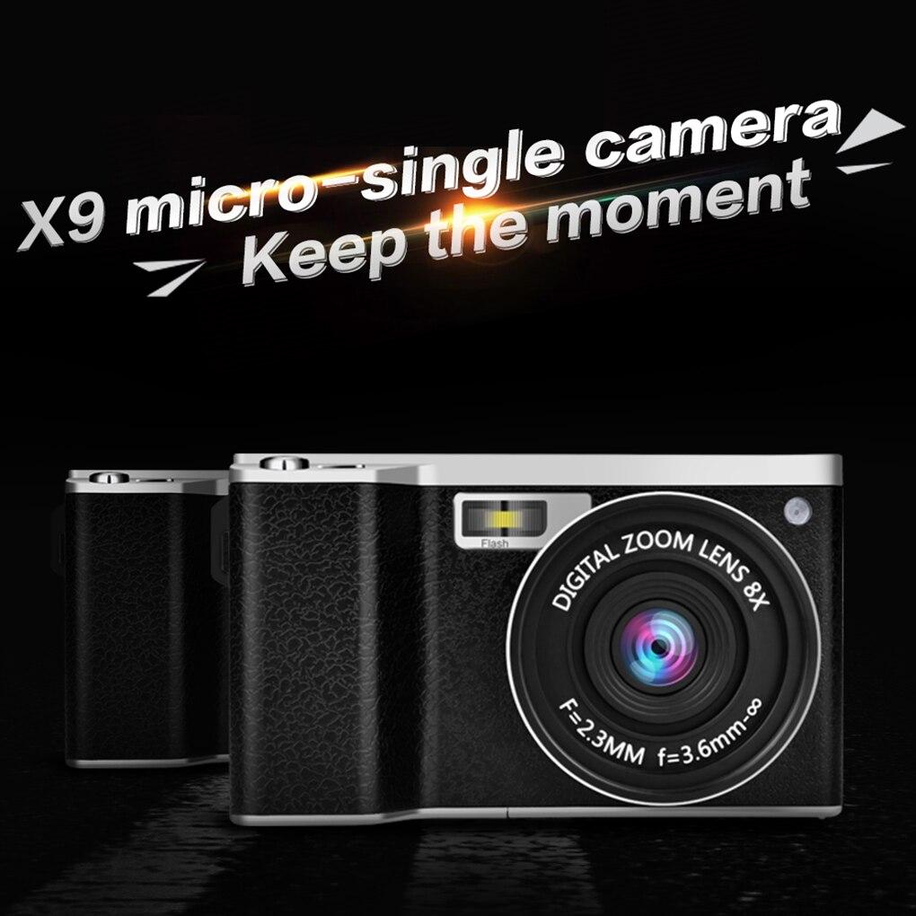 GRANDE VENTE X9 4.0-Pouces Affichage 12X IPS HD zoom optique 1080PHD 24MP REFLEX appareil photo numérique enregistreur vidéo