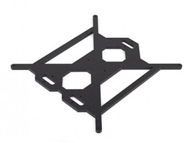 6 MM BEHEIZTE BETT UNTERSTÜTZUNG aluminiumlegierung Schnelles schiff für PRUSA I3