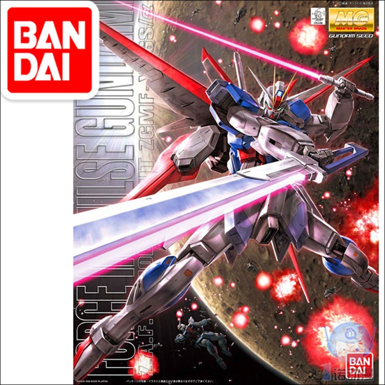 Japaness BANDAI Gundam MG 1/100 Model  SEED DESTINY FORCE IMPULSE  Mobile Suit Kids Toys
