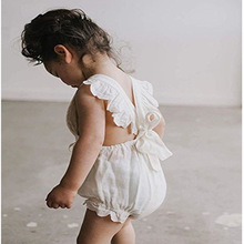 MYODI - 2018 בייבי Girl Bodysuit תחרה הקיץ הנסיכה ילדה Jumpsuit תינוקת בנות חד פעמי לבוש לילדים הנערה 0-2T