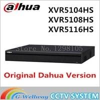 Dahua XVR5104HS XVR5108HS XVR5116HS Замена HDCVI аналоговая IP видео input1080P Tribrid DVR Поддержка 1HDD HCVR5104/08/16HS S3