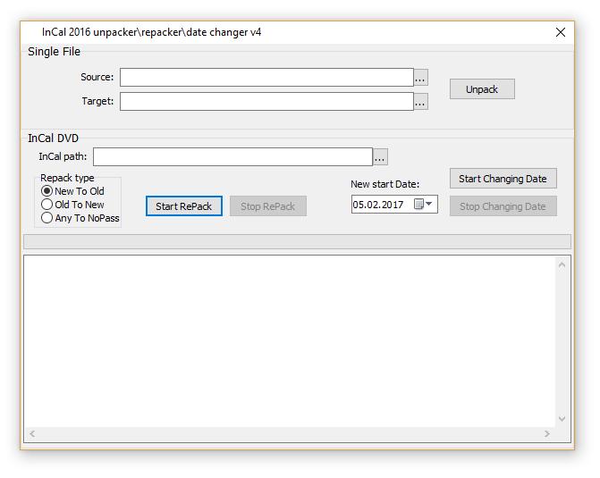 InCal Décaisseuse/Repacker/Date Changeur 2016 v4 (à résoudre nouveau incal fonctionne sur 7.6)