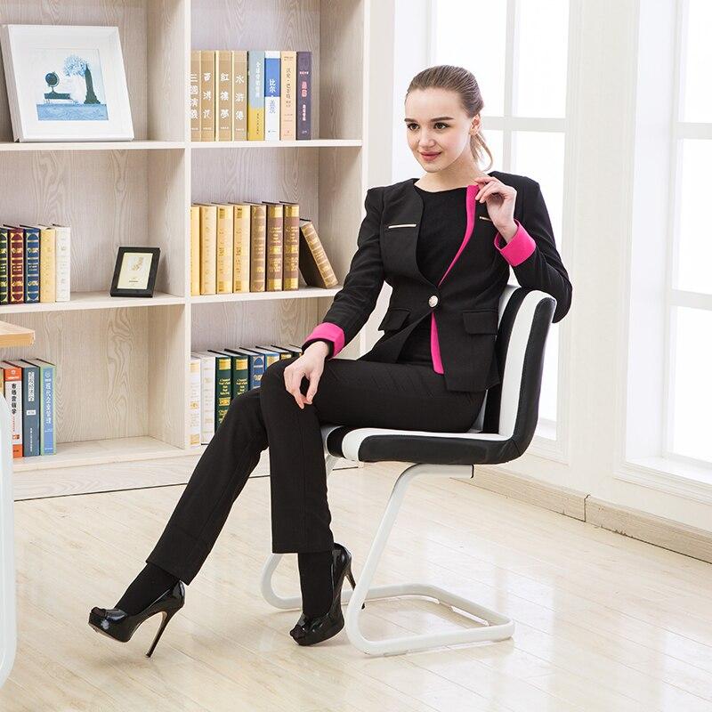 Computer Stoel Home Office Personeel Stoel Mode Ergonomische Conferentie Receptie Stoel