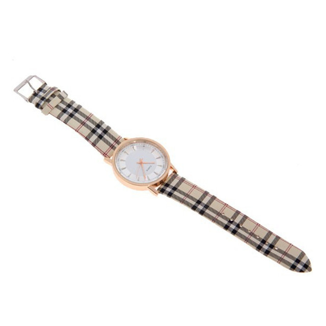 Hot Sale Watch Fashion Plaid Leather Watches Women Watches Luxury Gold Ladies Watch Hour Clock relogio feminino relojes mujer