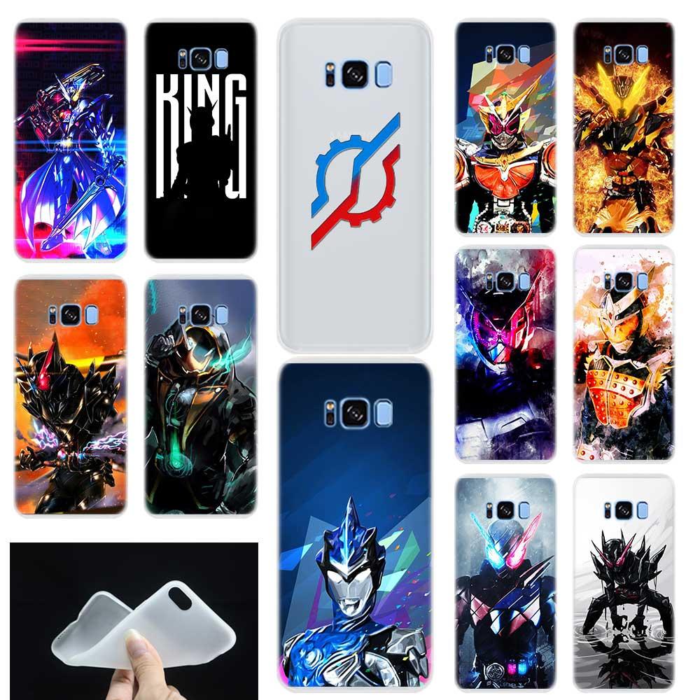 Kamen Rider Dragon Knight Pattern Soft Phone Case Cover For Samsung Galaxy S6 S7 Edge S8 S9 Plus S10 Plus E Note 8 9 10 Pro