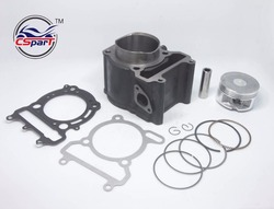70mm Zylinder Kolben Ring Kit Linhai 520 520CC LH2V70 ATV UTV Buggy