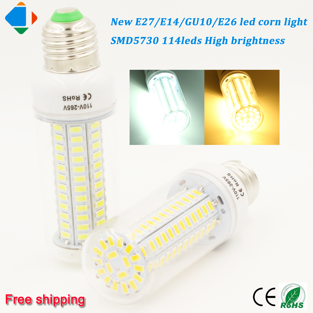 Online buy wholesale e27 led lampen from china e27 led lampen 2 pcs new led corn bulb lampen e27 e26 e14 gu10 smd5730 chip 114leds ultra high parisarafo Images
