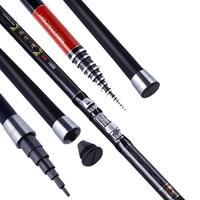7M 12M Rock Fishing Rod Super Long Carbon Telescopic Fishing Rod High Quality Hand pole Rock fishing rod Olta B020
