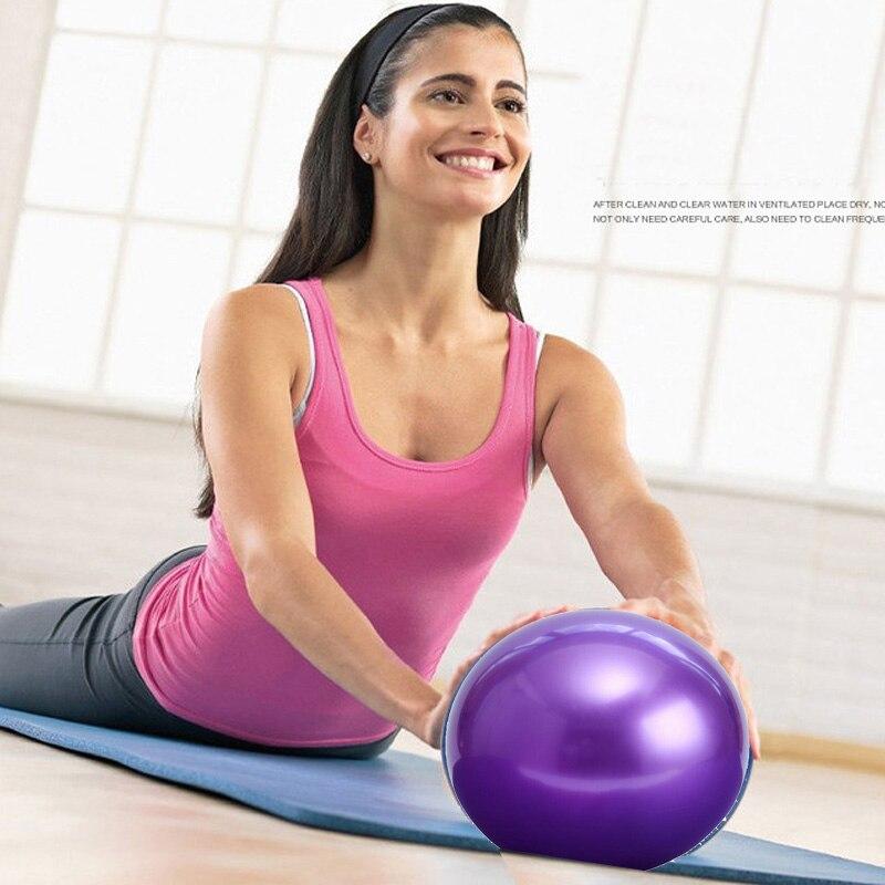 ★  Мини-мяч для пилатеса 25 см. Упражнения для йоги. Шар ПВХ. Надувные упражнения для фитнеса. Пилатес- ★