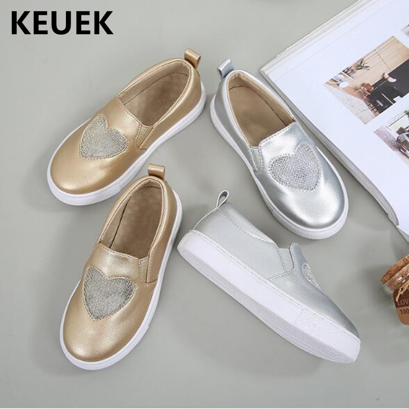 New Spring/Autumn and Summer Children Casual Loafers Student School Dress Leather Shoes Girls Baby Toddler Flats Kids 04