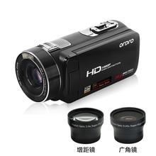 Ordro дома Применение HD 1080 P 24mp цифрового видео Камера с Сенсорный экран и Дистанционное управление Поддержка