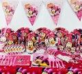 78 Minnie Mouse festa de aniversário crianças decoração fontes do partido Evnent CK-510