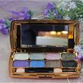 Eyeshadow Beauty Cosmetics Palette Makeup Palette eight colors Dazzling diamond eye shadow free shipping S464