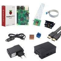 Raspberry Pi 3 Camera Kit Raspberry Pi 3 5MP Camera Holder Power Supply USB Cable ABS