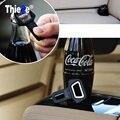 2 unids Safty Cinturón de seguridad Del Coche Hebilla Abridor de Cerveza Coche para Opel astra h astra J g astra mokka insignia Zafira corsa Tigra Vectra Antara