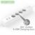 NTONPOWER UE Tomada Protetor Contra Surtos de 4 Tomada de CORRENTE ALTERNADA com 4 Saída Power Strip Extensão USB Cabo-5 Pés/1.5 M