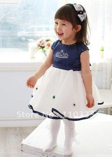 Baby S Wedding Dress High Quality Kids Party Princess Skirt
