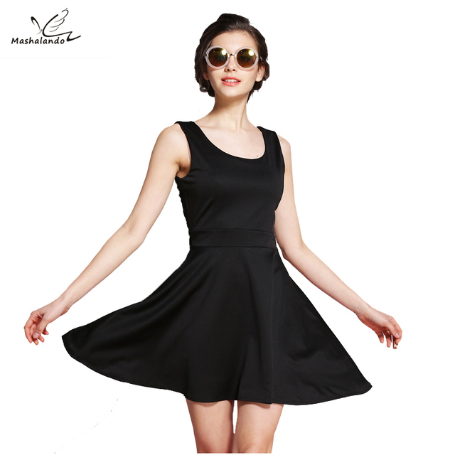 Aliexpress Buy Mashalando 60s Dress Little Black Dresses