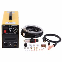 Ship From Germany Portable DC Inverter Plasma Cutter With Pressure Gauge Waterproof 5 5KVA 220V