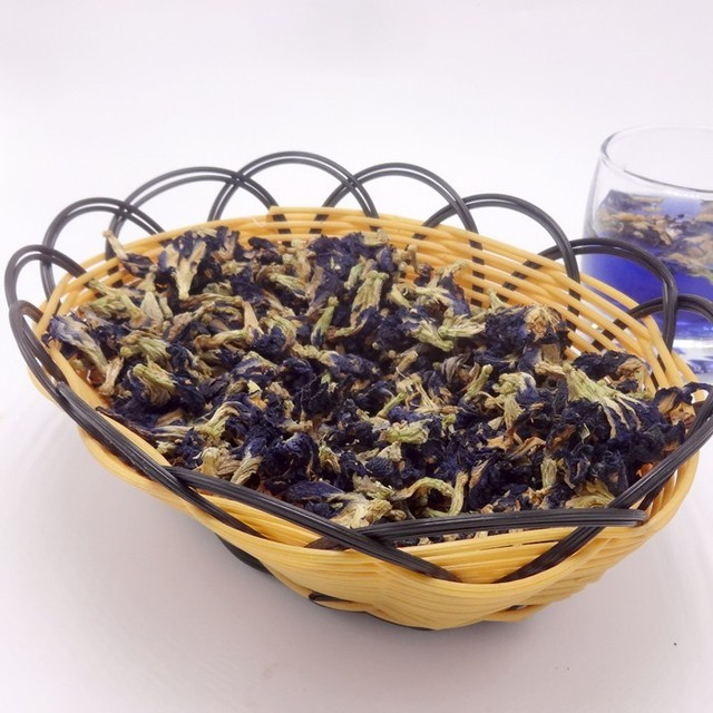 1kilogram.40g  Blue Butterfly Pea tea.Vitamin A mixed in Coffee green living put in tea infuser