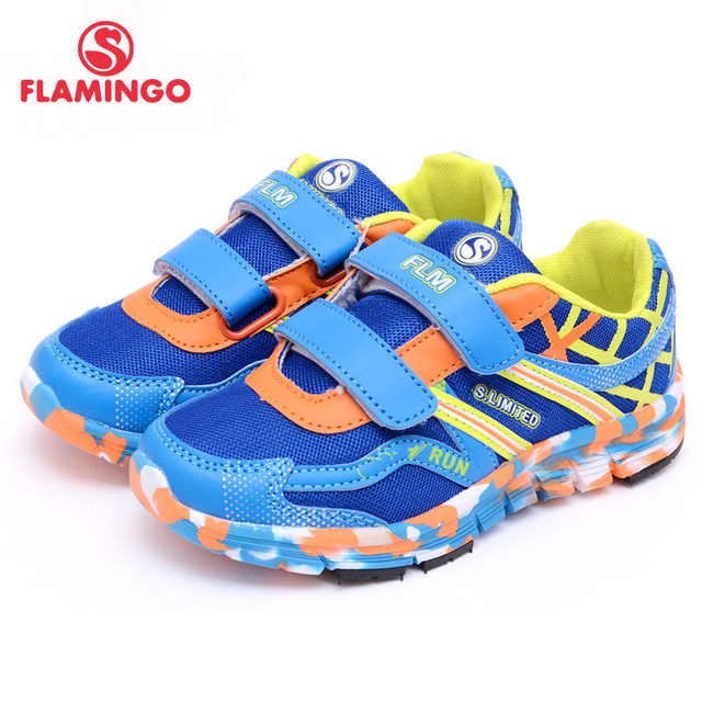 FLAMINGO Russian Famous Brand 2016 New Arrival Spring Kids Sport Shoes Fashion High Quality children sneakers 61-JK105/106/107