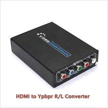 1080P HD HDMI к компонентному YPbPr видео и R/L аудио адаптер конвертер HDMI К AV конвертер Поддержка R/L аудио выход