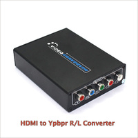 New 1080P HD HDMI To Component YPbPr video and R/L audio Adapter Converter HDMI to AV Converter Supporting R/L Audio Out
