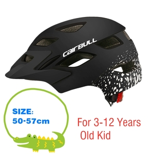 Image 4 - Cairbull新ファッショナブルな子供サイクリングヘルメット子供のスポーツ安全自転車ヘルメットスクーターバランスバイクヘルメットとテールライト