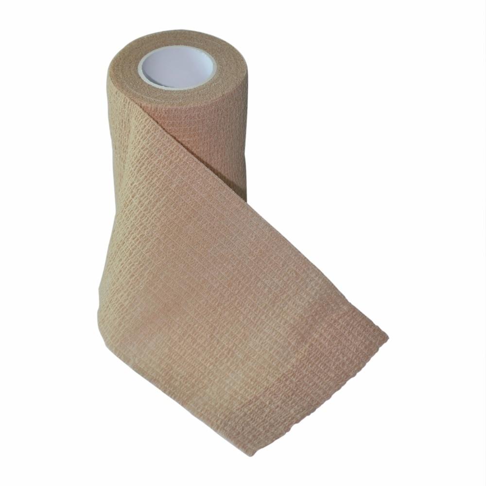 24 Pcs Lot 7 5cm x 4 5m Self Adhesive Elastic Nonwoven Cohesive Bandage Adherent Wrap