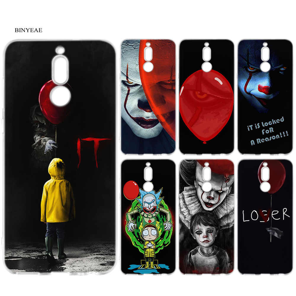 Pennywise Clown Horreur Dessin Anime Etui Pour Huawei Mate 10 20