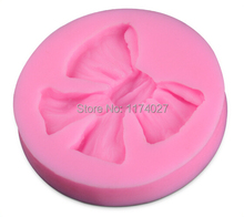 Promotion Butterfly Bow Knot Silicone Mold Chocolate Candy Jelly Cake Decorating DIY Sugarcraft Mould