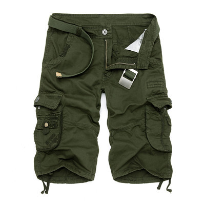 High Design Camouflage Military Shorts 2
