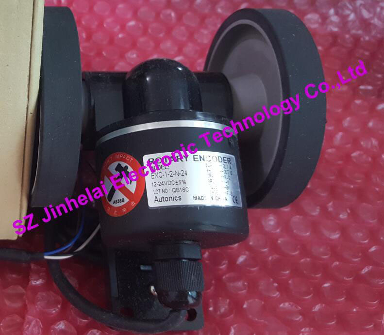100% Authentic original ENC-1-2-N-24 AUTONICS Roller encoder new and original mutoh vj 1604 vj 1204 pf enc a0 assy printers