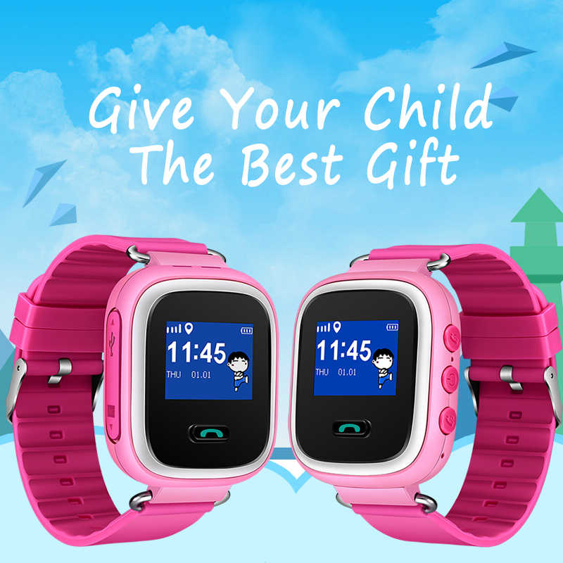 LIGE Детские умные часы Детская безопасность LBS отслеживание позиционирования поиск sos sim вызов детские часы будильник удаленный монитор + коробка