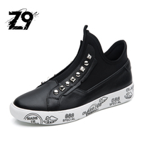 Z9 DESIGN MEN BOOTS CASUAL HIGH SHOES MEN SNEAKER STYLE ANKLE FLATS BOOTS BRAND DESIGN TOP