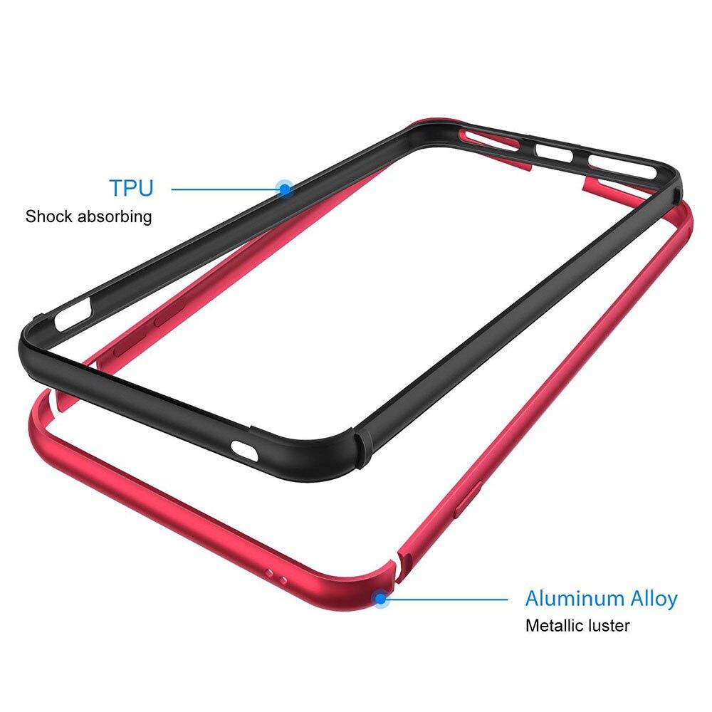 Ascromy For iPhone 7 Bumper Case No Back Aluminium Frame Rubber TPU Shockproof Coque Funda For iPhone 8 Plus 7 8plus Accessories (13)