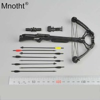 Mnotht 1/6 Scale 15 24 Crossbow set 8PCS Arrows Weapon Model For Daryl Walking Dead Custume Fit 12 Soldier Action Figure