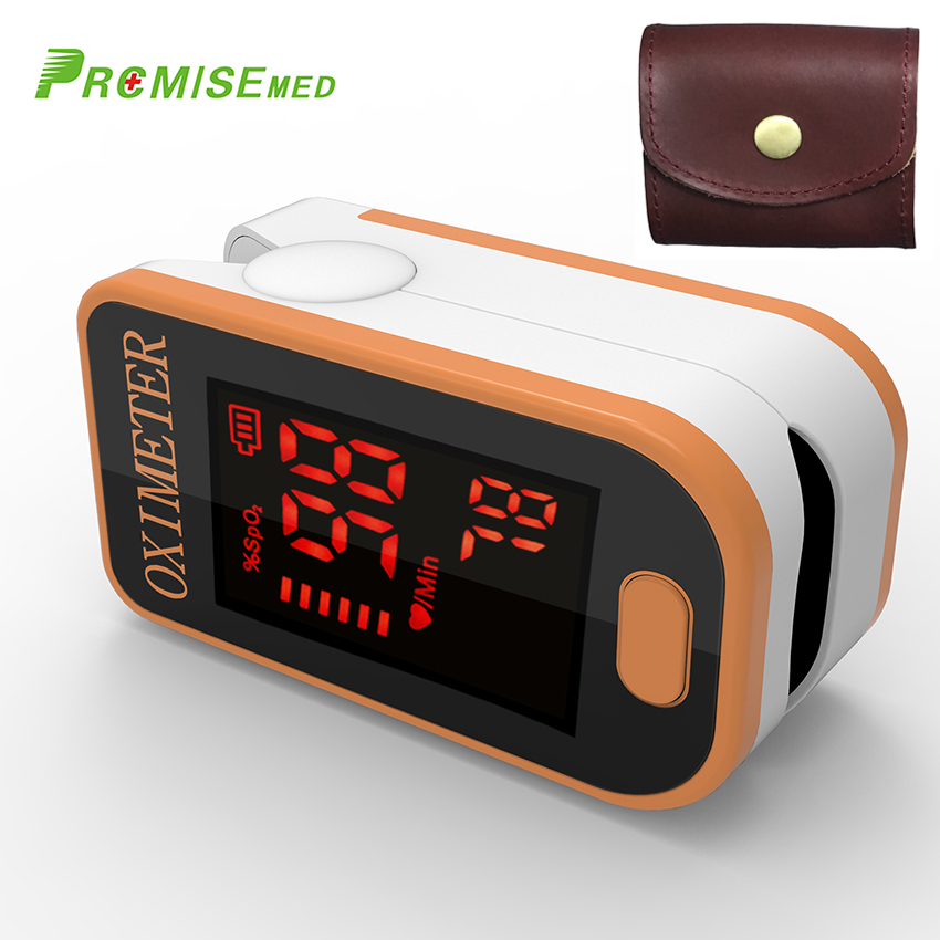 PRO F4 orange Finger Pulse Oximeter Heart Beat At 1 Min Saturation Monitor ideal for sport and daily homecare in Blood Pressure from Beauty Health