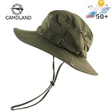 Bucket-Hat Uv-Protection Fishing Summer Beach-Cap Military Hiking Tactical Women UPF