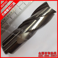 Solid Carbide Two Flute Roughing Spiral Bits