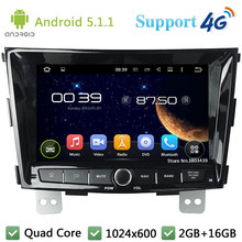 Quad Core 8″ 1024*600 2Din Android 5.1.1 Car DVD Video Player Radio Stereo FM DAB+ 3G/4G WIFI GPS Map For SsangYong Tivolan 2014