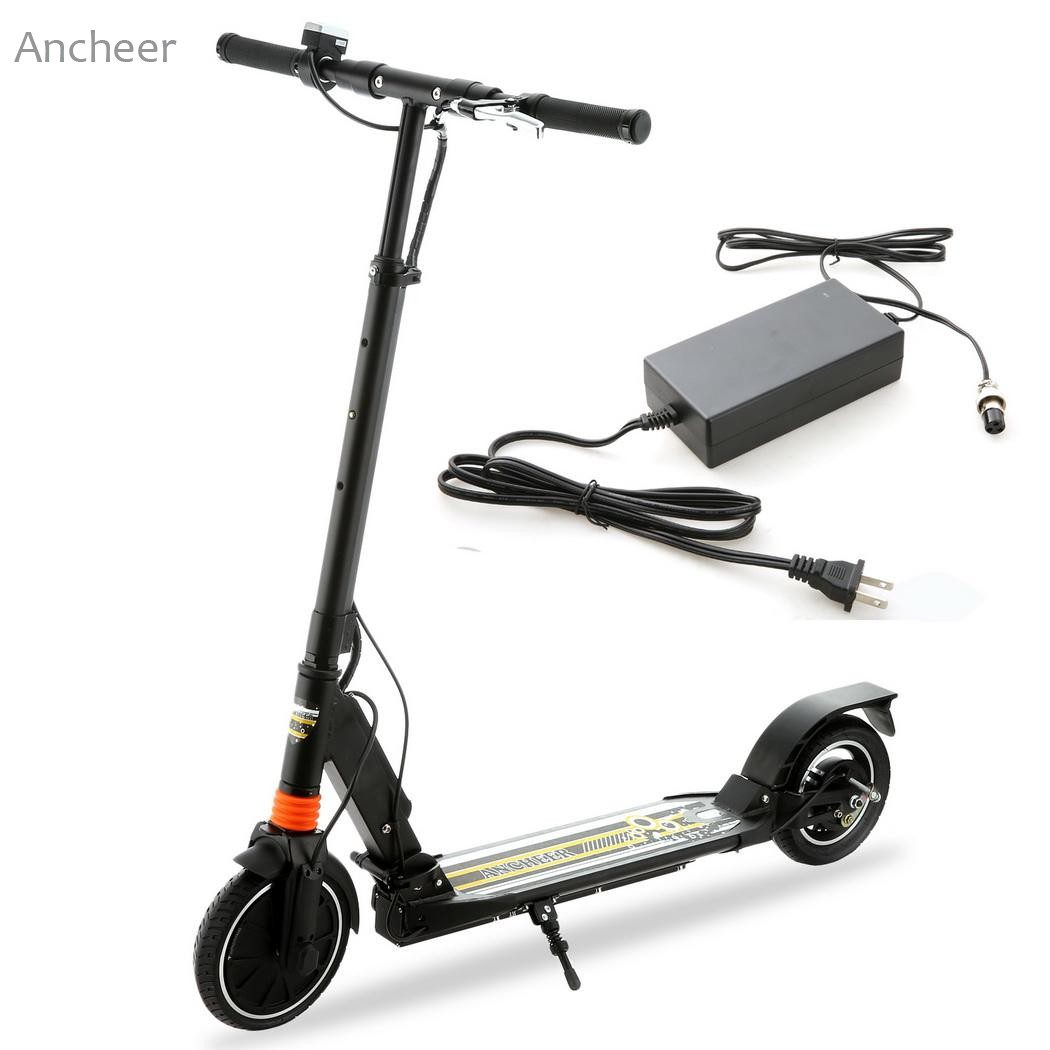 Ancheer Newest Electric Scooter High Speed Adult 2-Wheel Folding Electric Kick Scooter with Lithium Battery US plug gy6 scooter driven wheel high performance scooterl drivern scooter fit for 125cc 150cc engine chinese all brand motocross lh 115