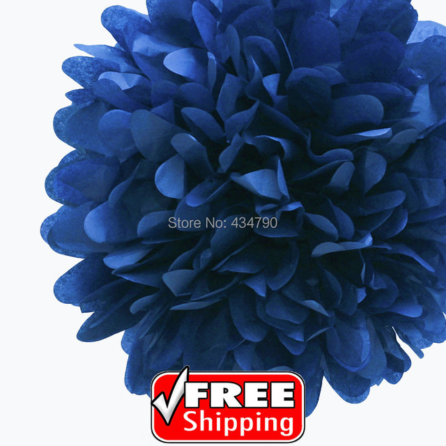 20pcs 820cm navy tissue craft pom poms bulkweddingsbirthday 20pcs 820cm navy tissue craft pom poms bulkweddingsbirthday mightylinksfo