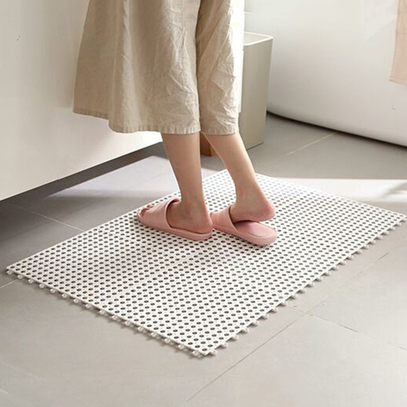 1pc Bathroom Carpet Shower Mat Non Slip Bath Mats