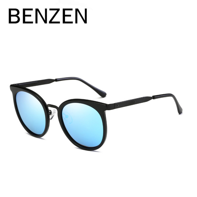 89a0603590b BENZEN Sunglasses Women Brand Designer Polarized Female Sun Glasses Ladies  Shade Men Sunglases Black With Original