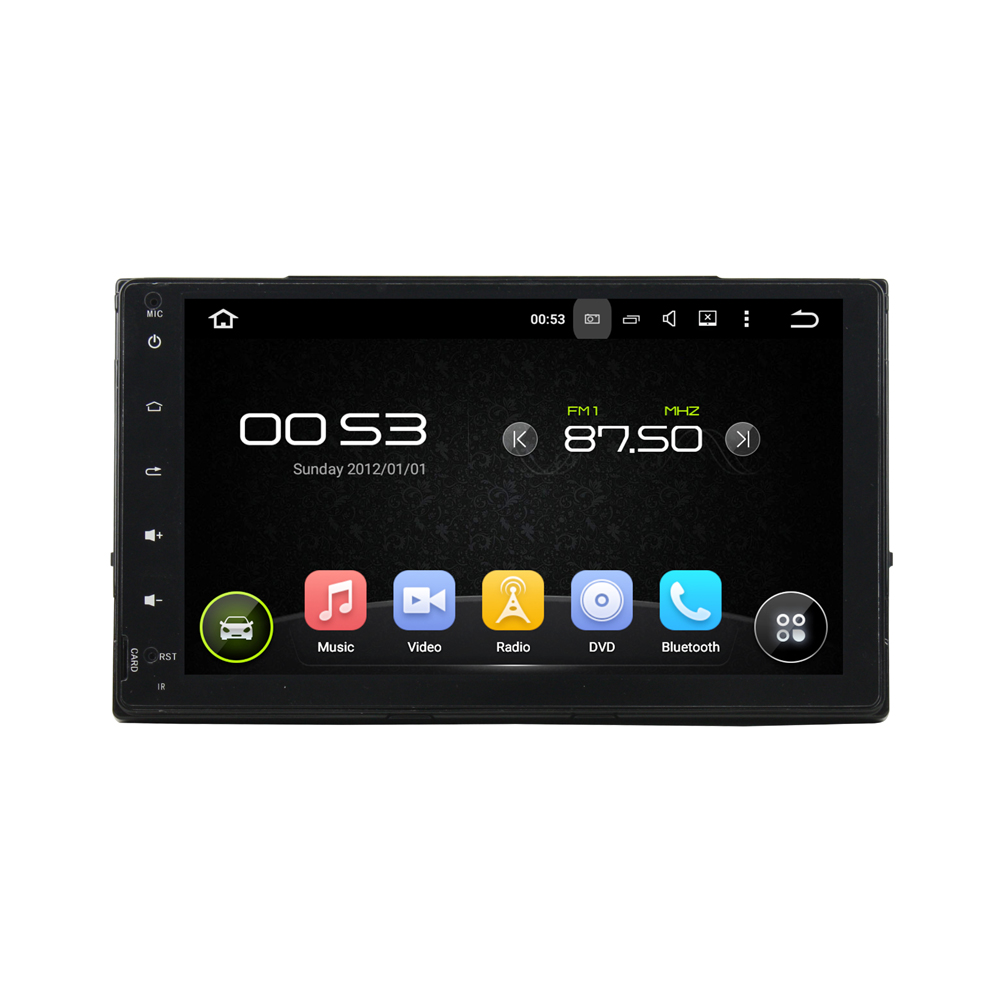 9 inch Screen Android 5.1 Car DVD Player GPS Navigation System Auto Radio Audio Video Media Stereo for Toyota Corolla 2017