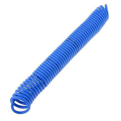 Blue PU Compressor Quick Connector 8mm x 5mm 9M Air Recoil Hose стоимость