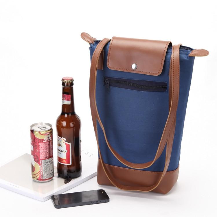 Selbstlos Hohe Qualität Thermische Kühltaschen Picknick Kühlen Isolierten Handtasche Eis Pack Thermo Lunch Box Lebensmittel Frisch Isolierung Einkaufstasche Tasche Noch Nicht VulgäR
