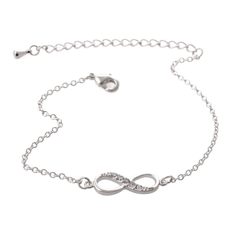 Jisensp Nova moda Ljubav Infinity narukvica za žene Personalizirano - Modni nakit - Foto 3