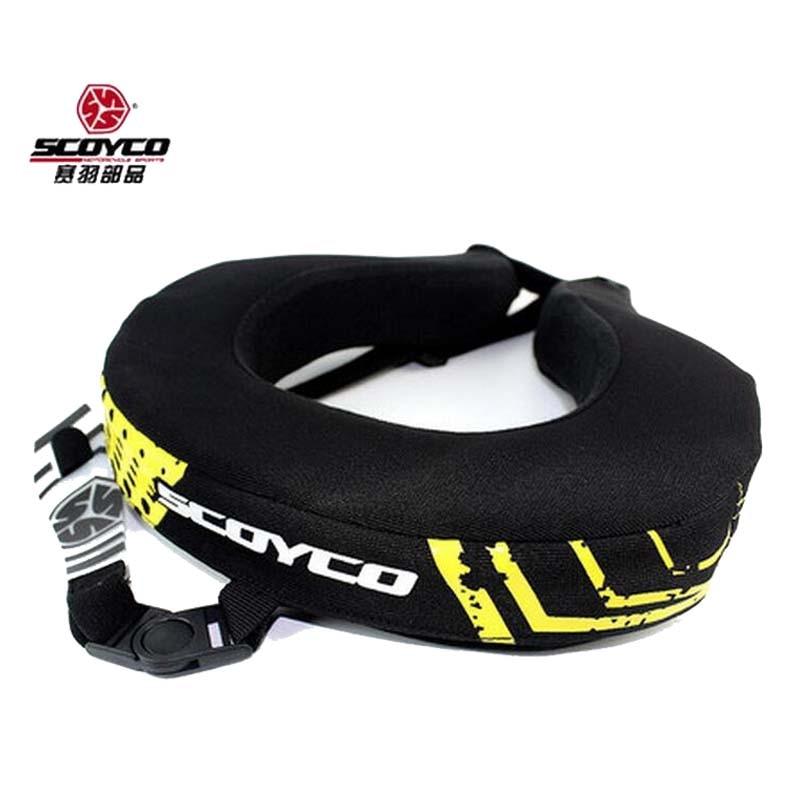 2017 SCOYCO baru motosikal menunggang di leher Melindungi leher terhadap perlindungan Karting equipment Perlindungan Gear N02B